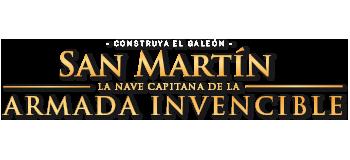 Maqueta De Madera Del Barco San Martín Altaya